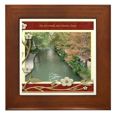 The Riverwalk #2 Framed Tile