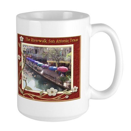 The Riverwalk #3 Large Mug
