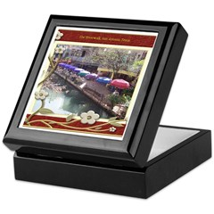 The Riverwalk #3 Keepsake Box