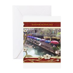 The Riverwalk #3 Greeting Card
