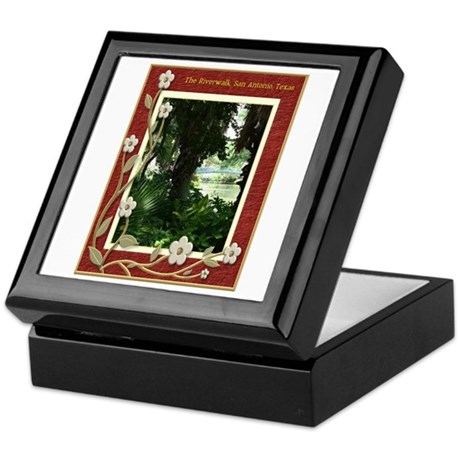 The Riverwalk #4 Keepsake Box