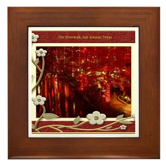 The Riverwalk #5 Framed Tile