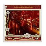 The Riverwalk #5 Tile Coaster