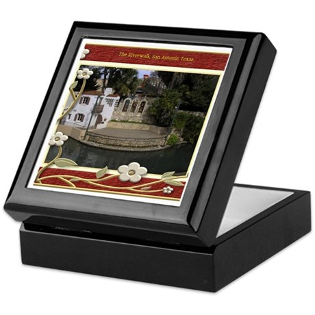 The Riverwalk #6 Keepsake Box