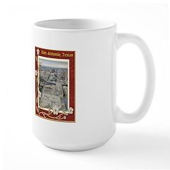 San Antonio Skyline #1 Large Mug