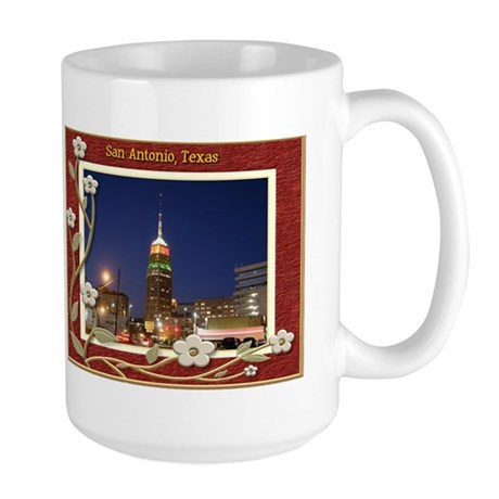 San Antonio Skyline #2 Large Mug