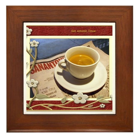 San Antonio - Relaxing Framed Tile