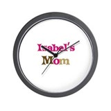 Isabel's Mom Wall Clock