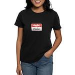 Painter Nametag Women's Dark T-Shirt