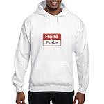 Painter Nametag Hooded Sweatshirt