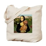 Mona Lisa (new) & Vizsla Tote Bag
