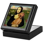 Mona Lisa (new) & Vizsla Keepsake Box