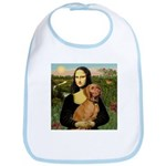 Mona Lisa (new) & Vizsla Bib