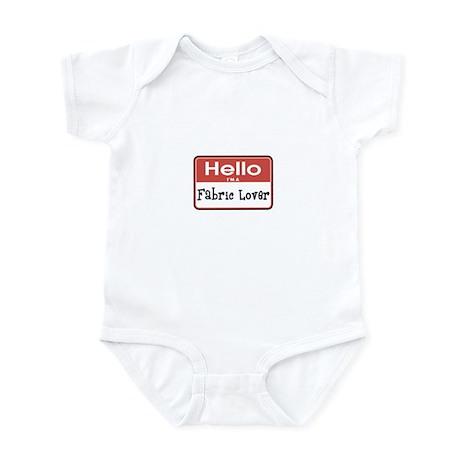 Fabric Lover Nametag Infant Bodysuit