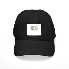 Respect Raw Food Baseball Hat