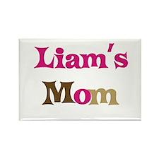 Liam's Mom Rectangle Magnet