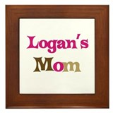 Logan's Mom  Framed Tile