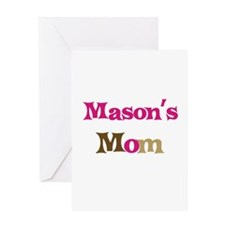 Mason's Mom Greeting Card