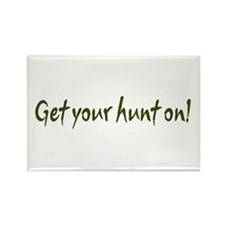 Get your hunt on! Rectangle Magnet