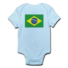 Brazil Flag Infant Creeper