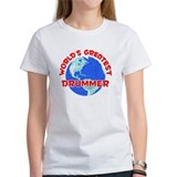 World's Greatest Drummer (F) Tee