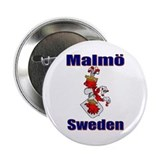 Malm&#246; Sweden Button