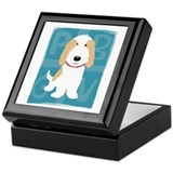 Tan & White PBGV Keepsake Box