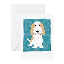 Tan & White PBGV Greeting Cards (Pk of 10)