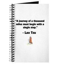Lao Tzu 1,000 Mile Journey Journal