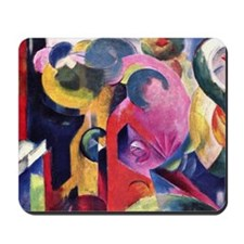 Composition by Franz Marc Mousepad