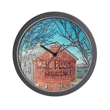 MailPouch Barn Wall Clock