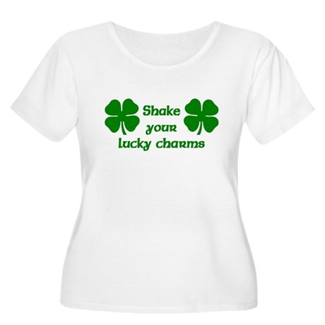 Shake your Lucky Charms Women's Plus Size Scoop Ne