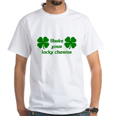 Shake your Lucky Charms White T-Shirt
