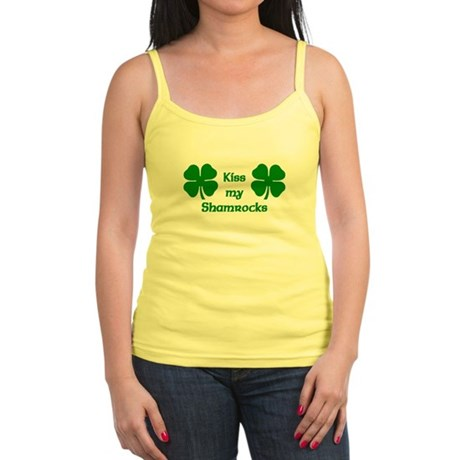 Kiss my Shamrocks Jr. Spaghetti Tank