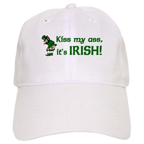 Kiss my Ass it's Irish Cap