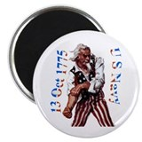 Uncle Sam Navy BDay Magnet