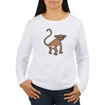 Cheeky Monkey Women's Long Sleeve T-Shirt