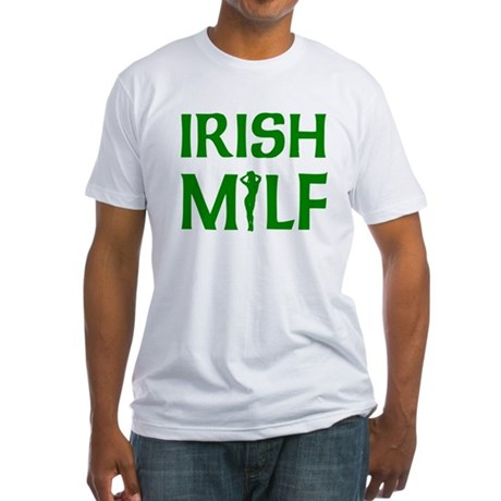 Irish MILF Fitted T-Shirt