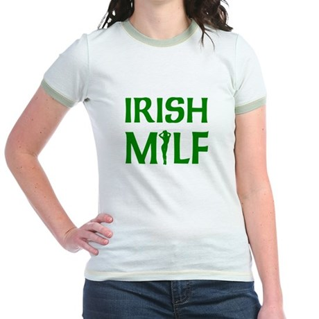 Irish MILF Jr. Ringer T-Shirt