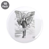 "One Tree Hill Peyton's Angel 3.5"" Button (10 pack)"
