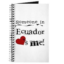 Ecuador Loves Me Journal