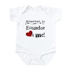 Ecuador Loves Me Infant Bodysuit