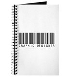 Graphic Designer Barcode Journal