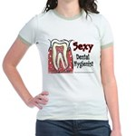 Sexy Dental Hygienist 2005 Jr. Ringer T-Shirt