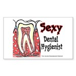 Sexy Dental Hygienist 2005 Rectangle Sticker