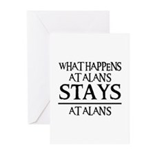 STAYS AT ALAN'S Greeting Cards (Pk of 10)