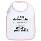 Deductible. What's your skill - Bib