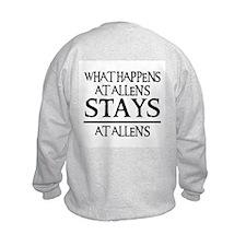 STAYS AT ALLEN'S Sweatshirt