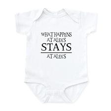 STAYS AT ALEX'S Infant Bodysuit