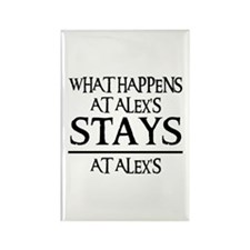 STAYS AT ALEX'S Rectangle Magnet (10 pack)